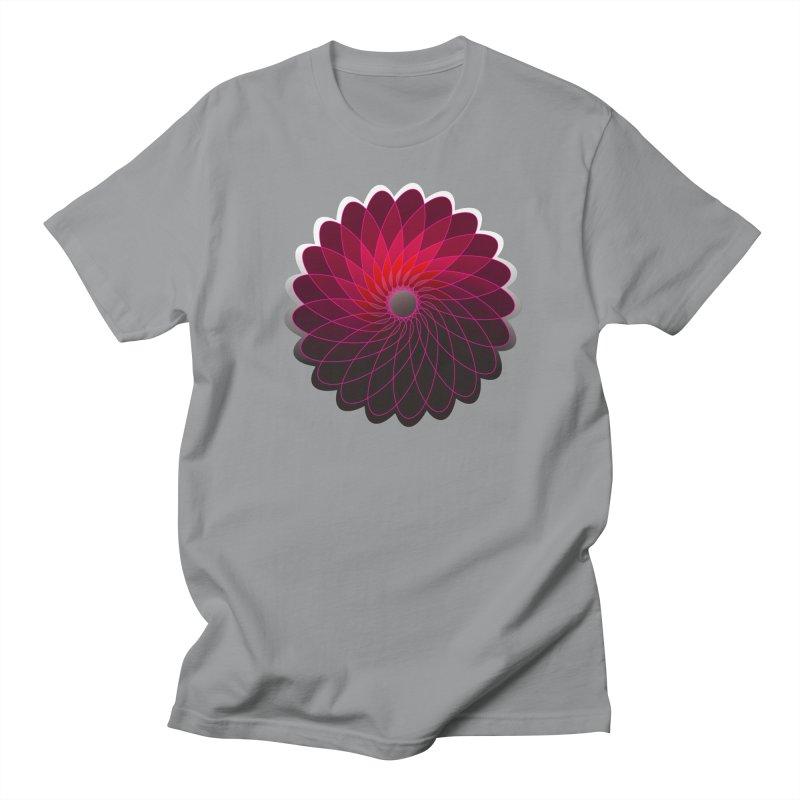Red shining gyro Women's Regular Unisex T-Shirt by fruityshapes's Shop