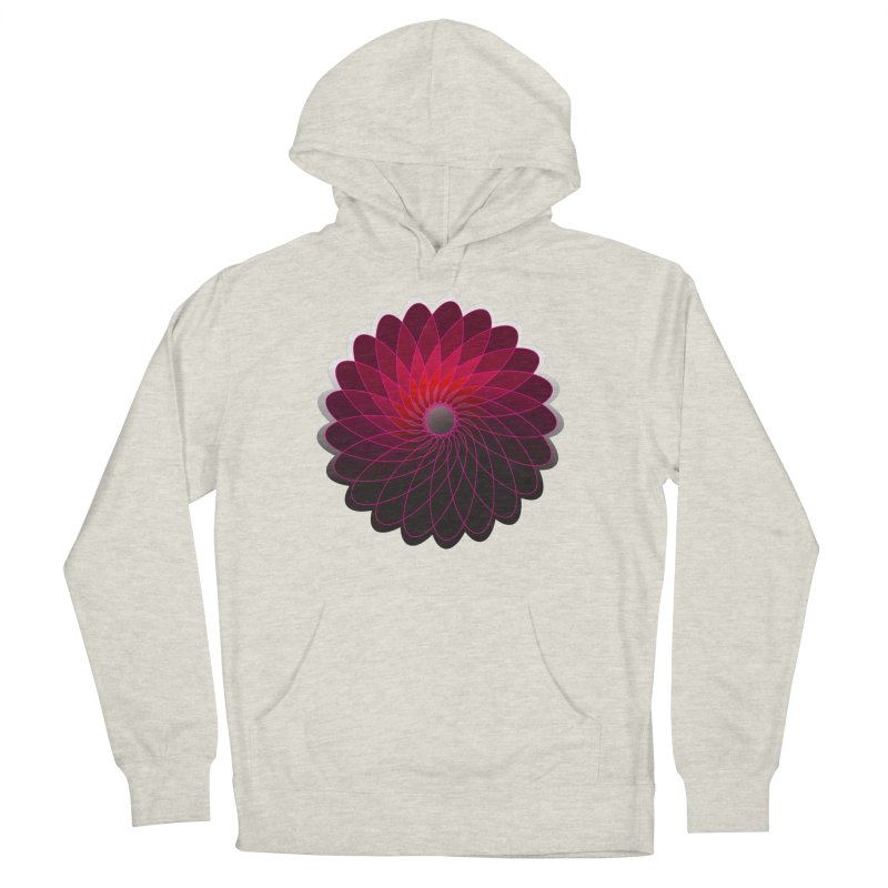 Red shining gyro Men's Pullover Hoody by fruityshapes's Shop