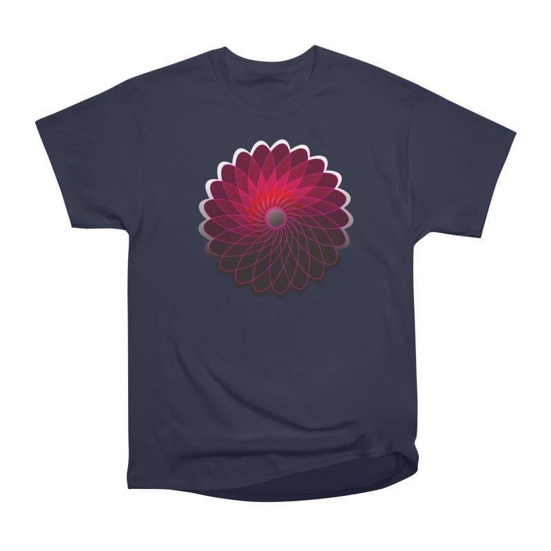 Red shining gyro Women's Heavyweight Unisex T-Shirt by fruityshapes's Shop