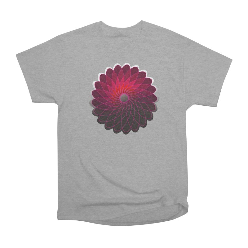 Red shining gyro Men's Heavyweight T-Shirt by fruityshapes's Shop