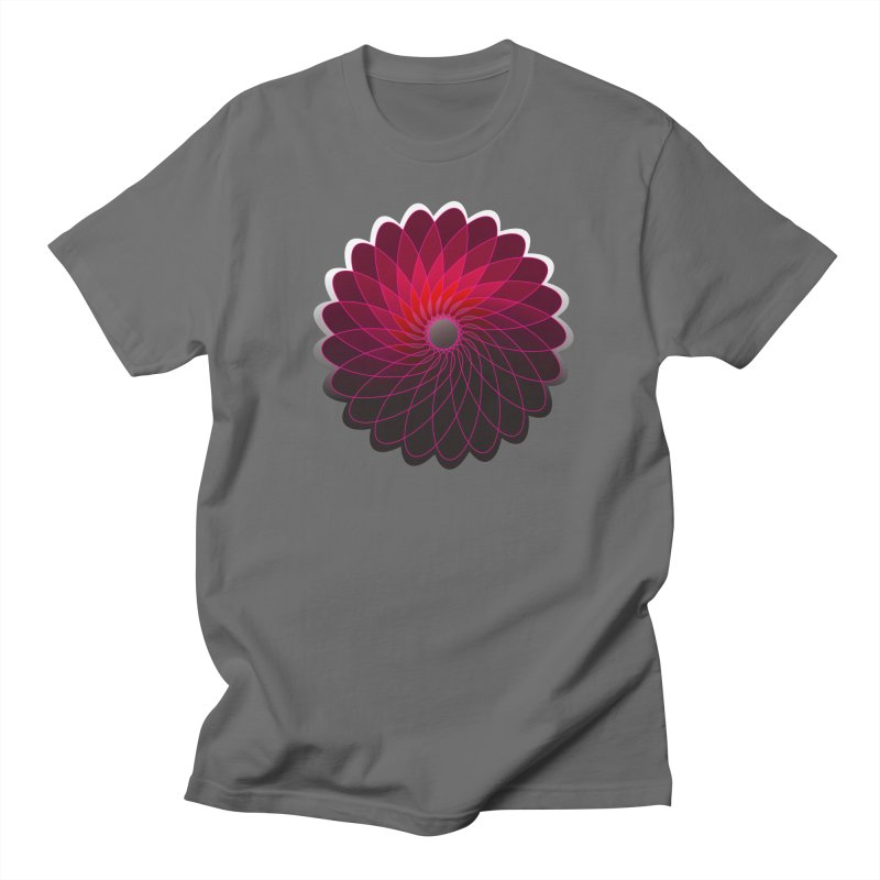 Red shining gyro Women's Regular Unisex T-Shirt by fruityshapes's Shop