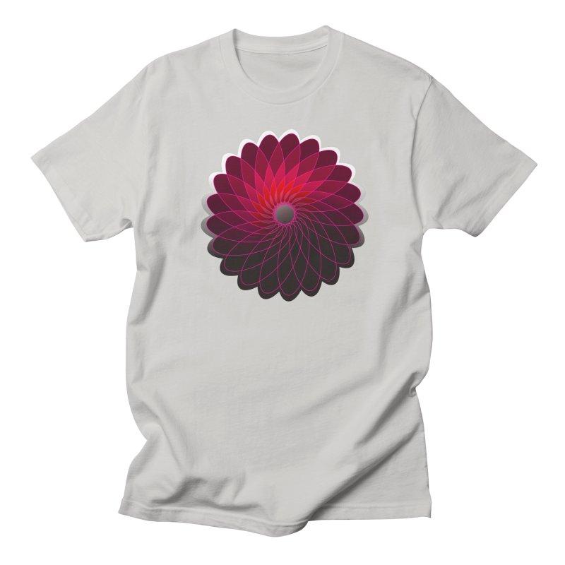 Red shining gyro Men's Regular T-Shirt by fruityshapes's Shop