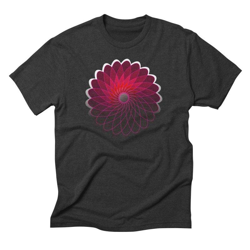 Red shining gyro Men's Triblend T-Shirt by fruityshapes's Shop