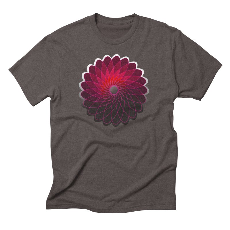 Red shining gyro Men's Triblend T-Shirt by fruityshapes's Shop