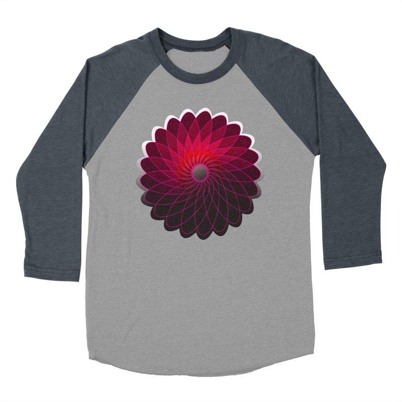 Red shining gyro Men's Baseball Triblend T-Shirt by fruityshapes's Shop