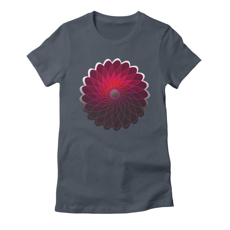 Red shining gyro Women's T-Shirt by fruityshapes's Shop