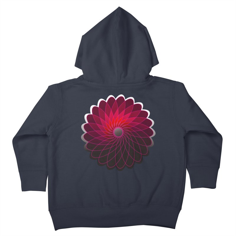 Red shining gyro Kids Toddler Zip-Up Hoody by fruityshapes's Shop