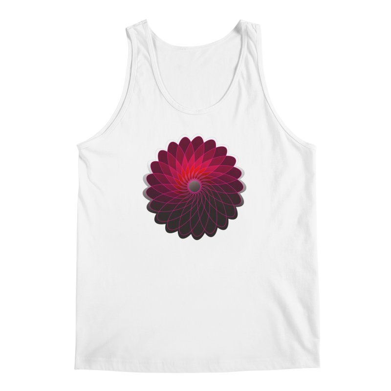 Red shining gyro Men's Regular Tank by fruityshapes's Shop