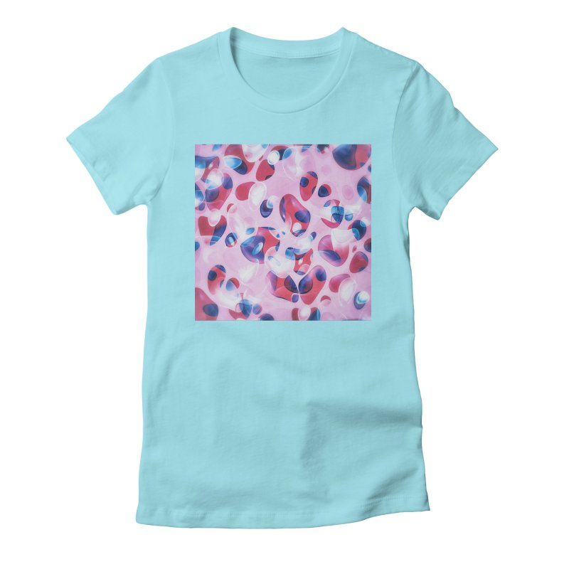 Fresh Blubber Bubbles Women's Fitted T-Shirt by fruityshapes's Shop