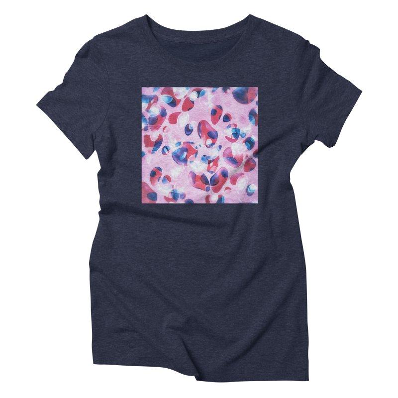 Fresh Blubber Bubbles Women's Triblend T-Shirt by fruityshapes's Shop