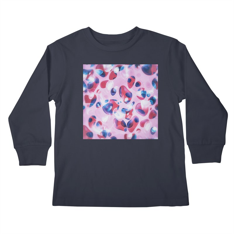 Fresh Blubber Bubbles Kids Longsleeve T-Shirt by fruityshapes's Shop