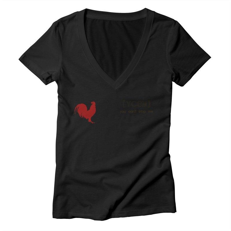 ycsm Women's V-Neck by FrustratedNerd Shop