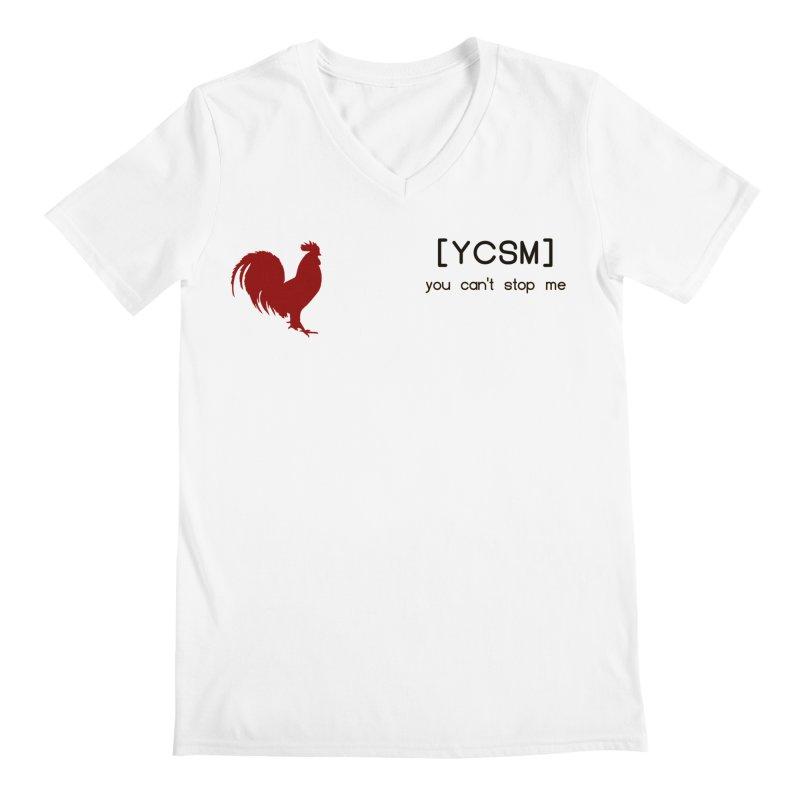 ycsm Men's V-Neck by FrustratedNerd Shop