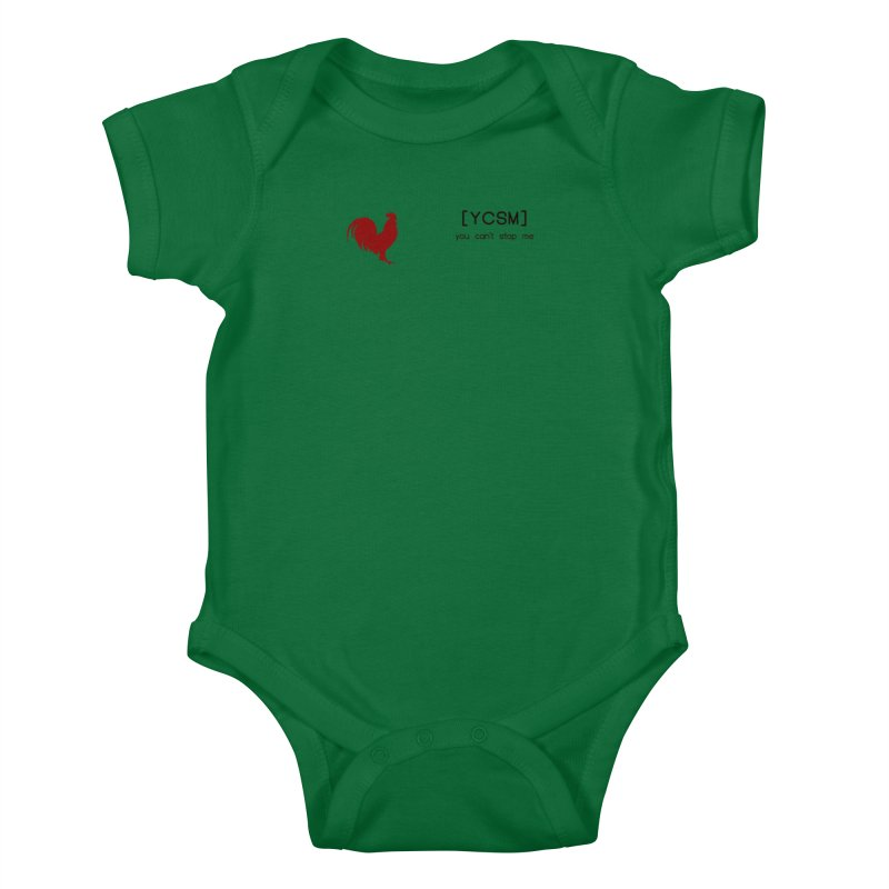 ycsm Kids Baby Bodysuit by FrustratedNerd Shop