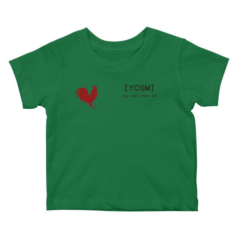 ycsm Kids Baby T-Shirt by FrustratedNerd Shop