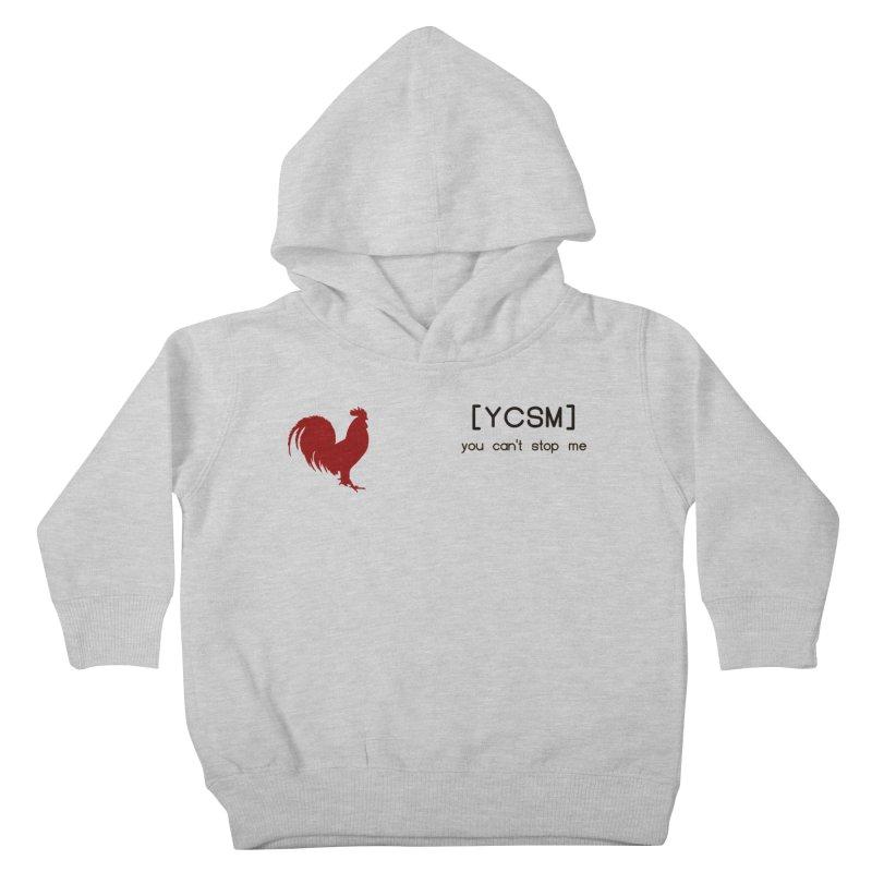 ycsm Kids Toddler Pullover Hoody by FrustratedNerd Shop