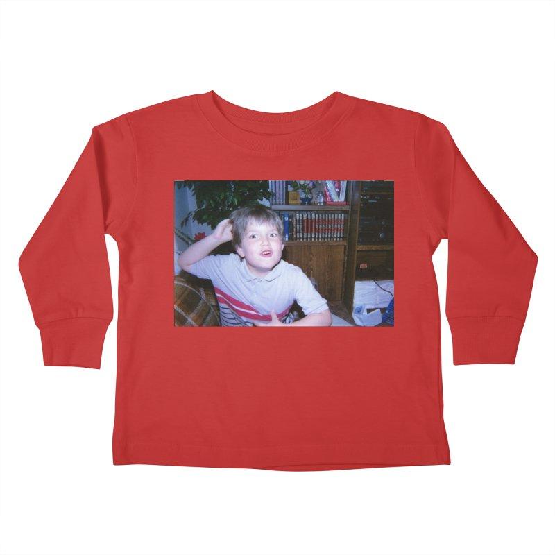 1990something Kids Toddler Longsleeve T-Shirt by FrustratedNerd Shop