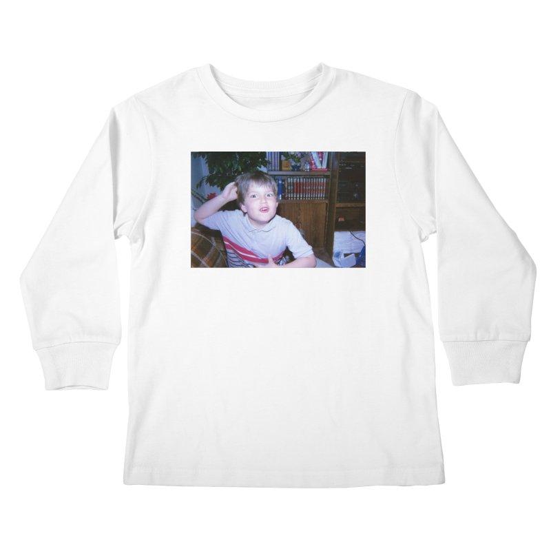 1990something Kids Longsleeve T-Shirt by FrustratedNerd Shop