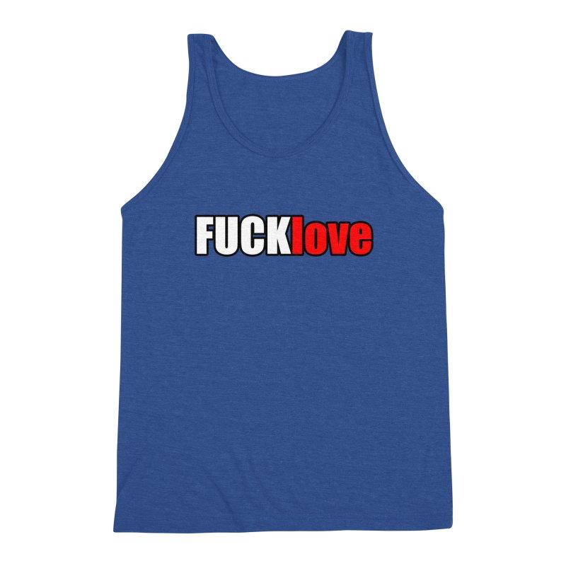 fuck love Men's Tank by FrustratedNerd Shop