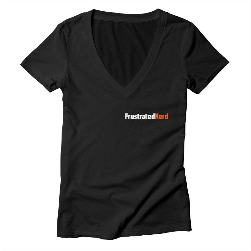 old logo Women's V-Neck by FrustratedNerd Shop