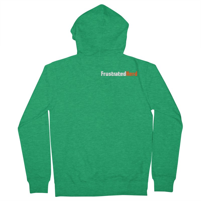 old logo Men's Zip-Up Hoody by FrustratedNerd Shop