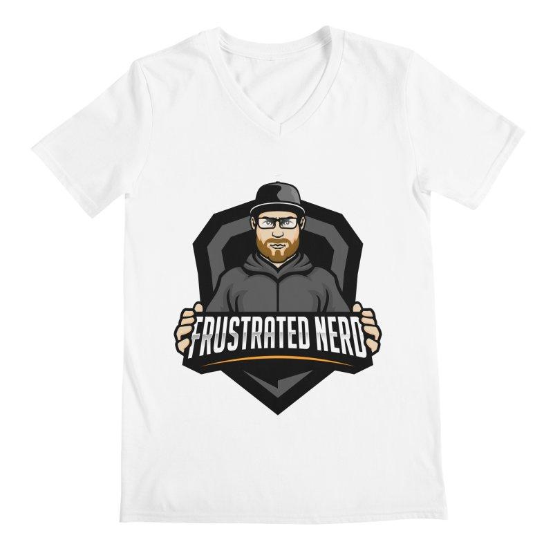 mascot Men's V-Neck by FrustratedNerd Shop