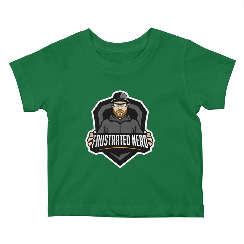 mascot Kids Baby T-Shirt by FrustratedNerd Shop