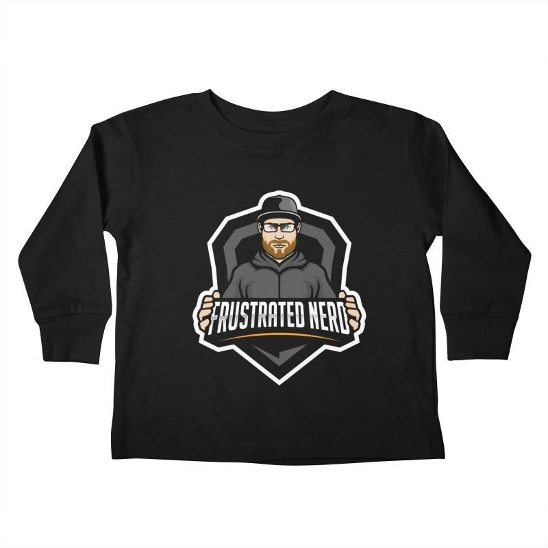 mascot Kids Toddler Longsleeve T-Shirt by FrustratedNerd Shop