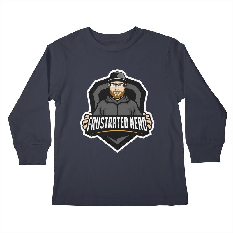 mascot Kids Longsleeve T-Shirt by FrustratedNerd Shop