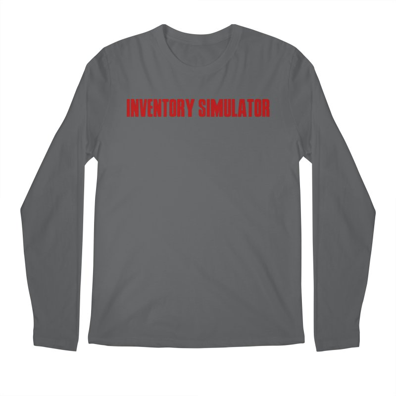 Inventor Simulator (Resident Evil) Men's Longsleeve T-Shirt by FrustratedNerd Shop