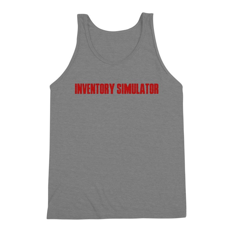 Inventor Simulator (Resident Evil) Men's Tank by FrustratedNerd Shop