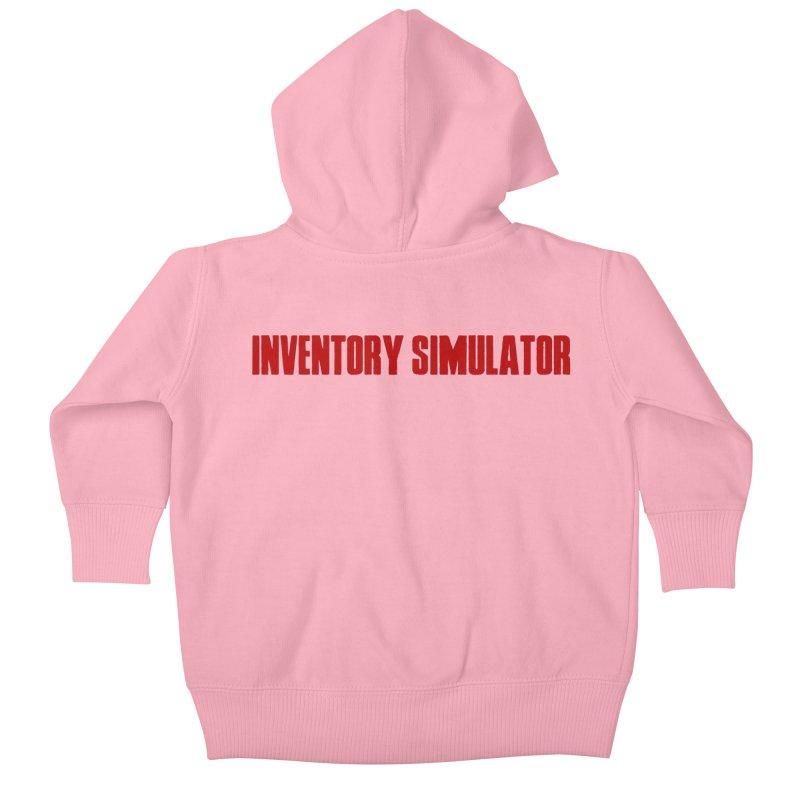 Inventor Simulator (Resident Evil) Kids Baby Zip-Up Hoody by FrustratedNerd Shop