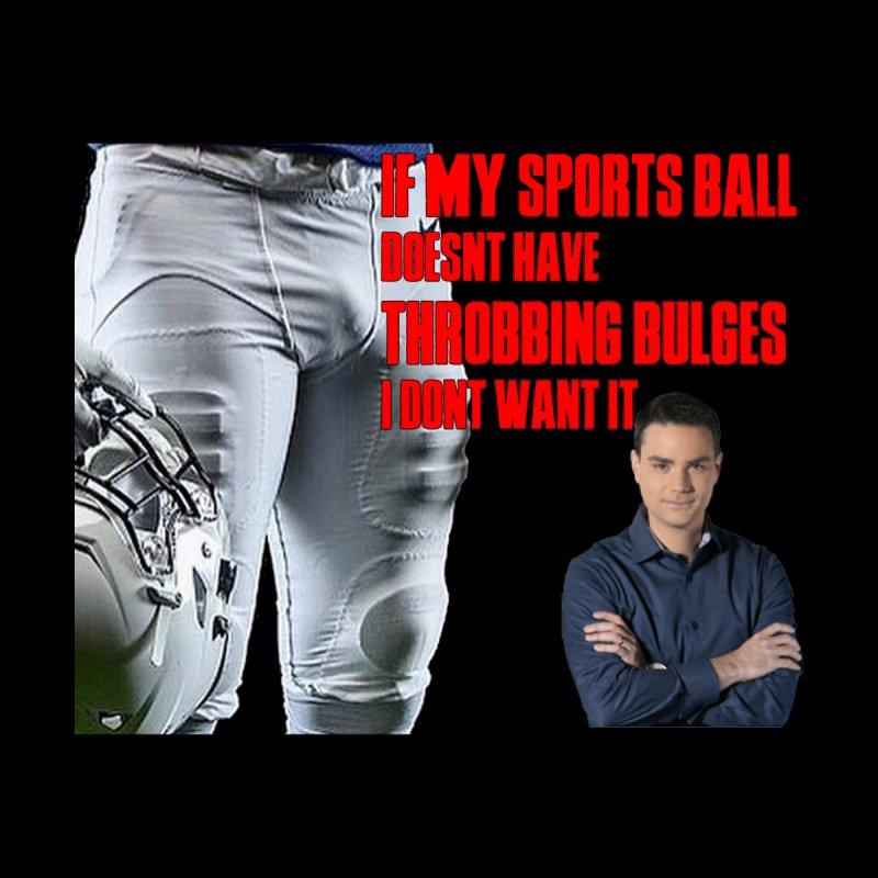 Sports Bulges feat. Ben Shapiro Men's T-Shirt by FrustratedNerd Shop