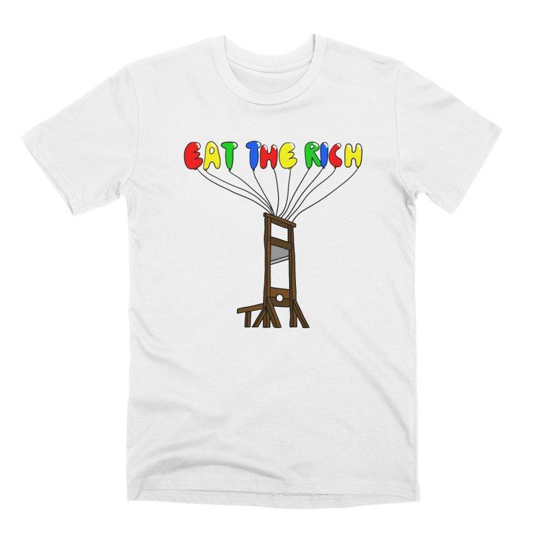 Eat The Rich (Baloons) Men's T-Shirt by FrustratedNerd Shop