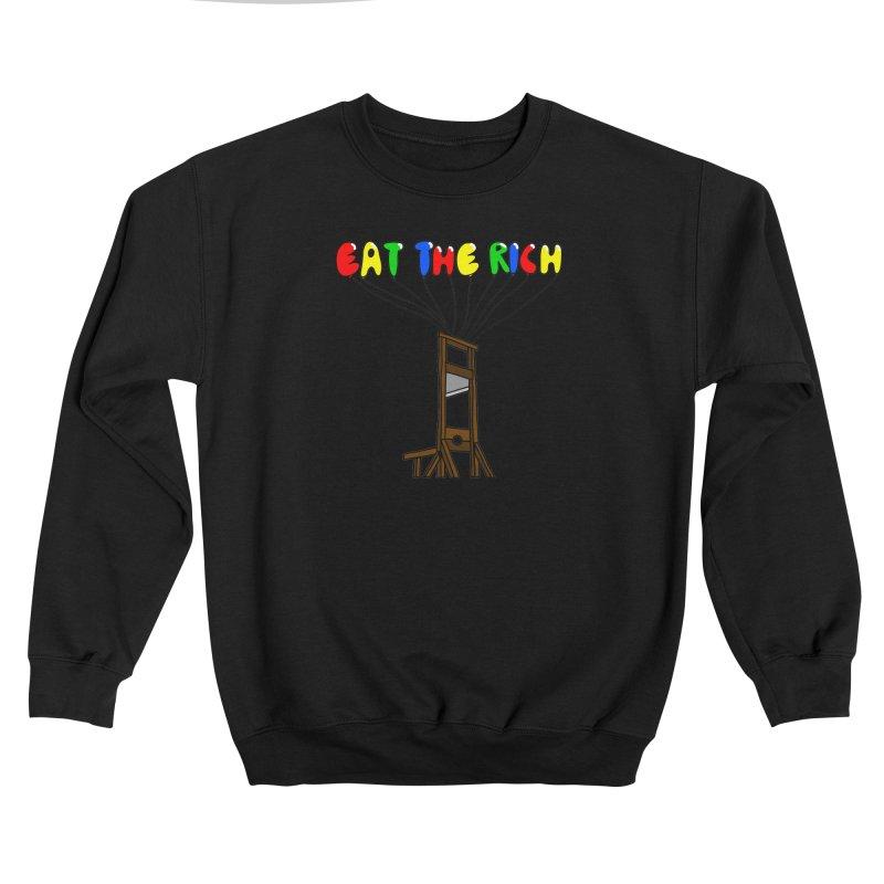 Eat The Rich (Baloons) Women's Sweatshirt by FrustratedNerd Shop