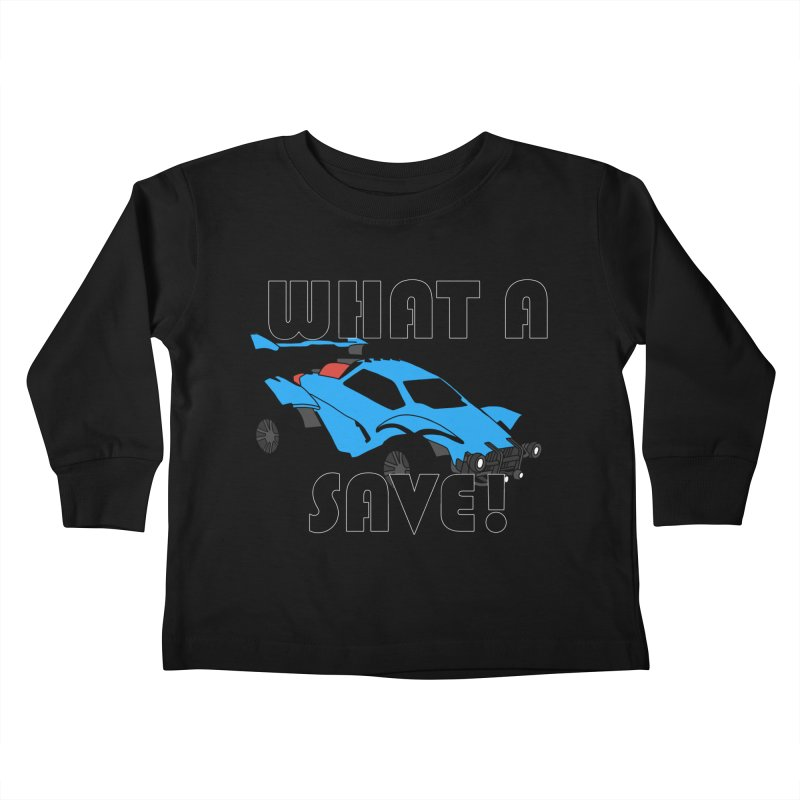 What a save! Kids Toddler Longsleeve T-Shirt by FrustratedNerd Shop