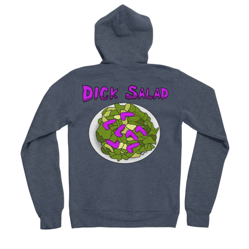 Dick Salad Men's Zip-Up Hoody by FrustratedNerd Shop