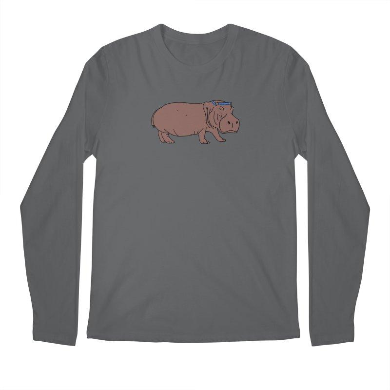 Hippo-Crip Men's Longsleeve T-Shirt by FrustratedNerd Shop