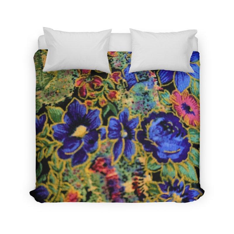 Flowered Design for  different products Home Duvet by frydenlundphoto's Artist Shop