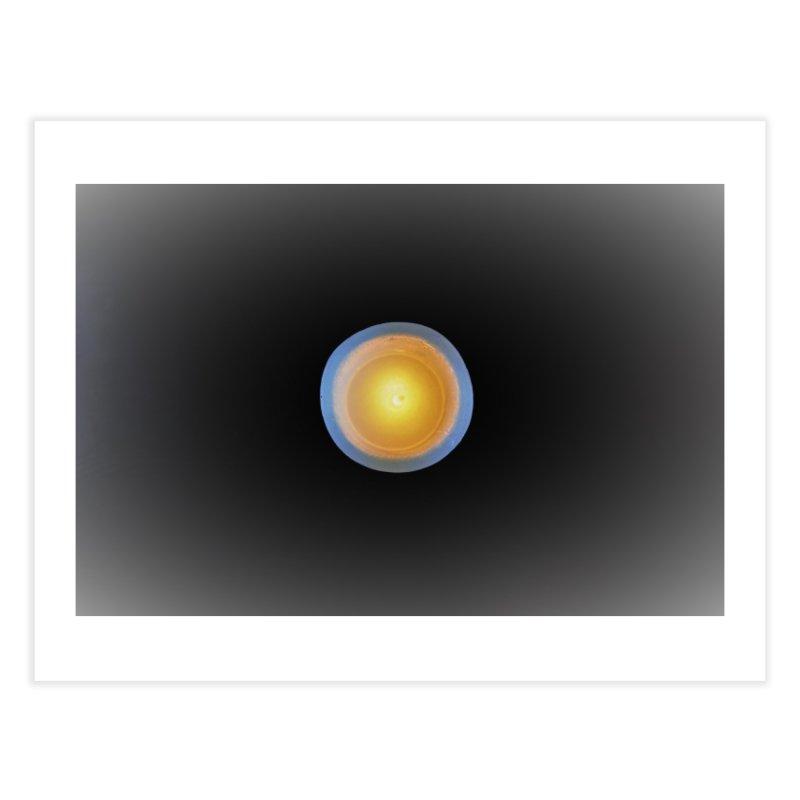 Yellow light in the darkness Home Fine Art Print by frydenlundphoto's Artist Shop