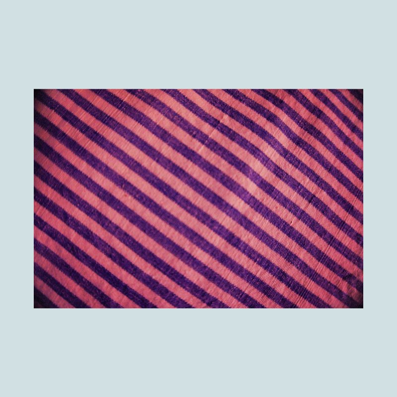 Design in pink whit blue stripes Home Fine Art Print by frydenlundphoto's Artist Shop
