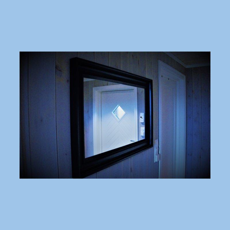 It is always a door in the mirror Home Framed Fine Art Print by frydenlundphoto's Artist Shop