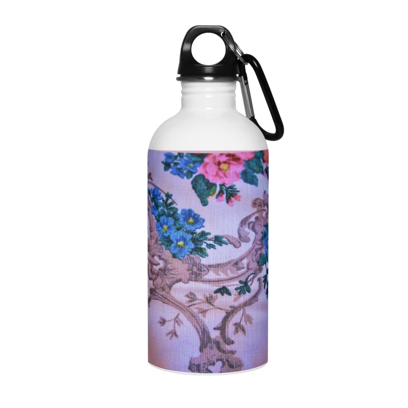 Flowered design photo in different colors in Water Bottle by frydenlundphoto's Artist Shop