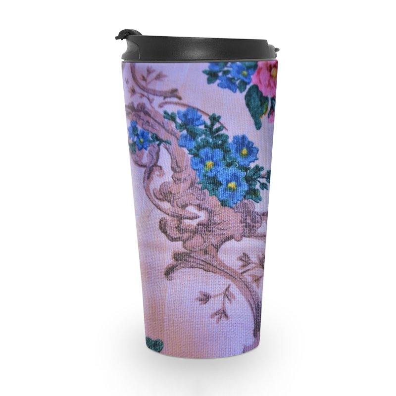 Flowered design photo in different colors in Travel Mug by frydenlundphoto's Artist Shop