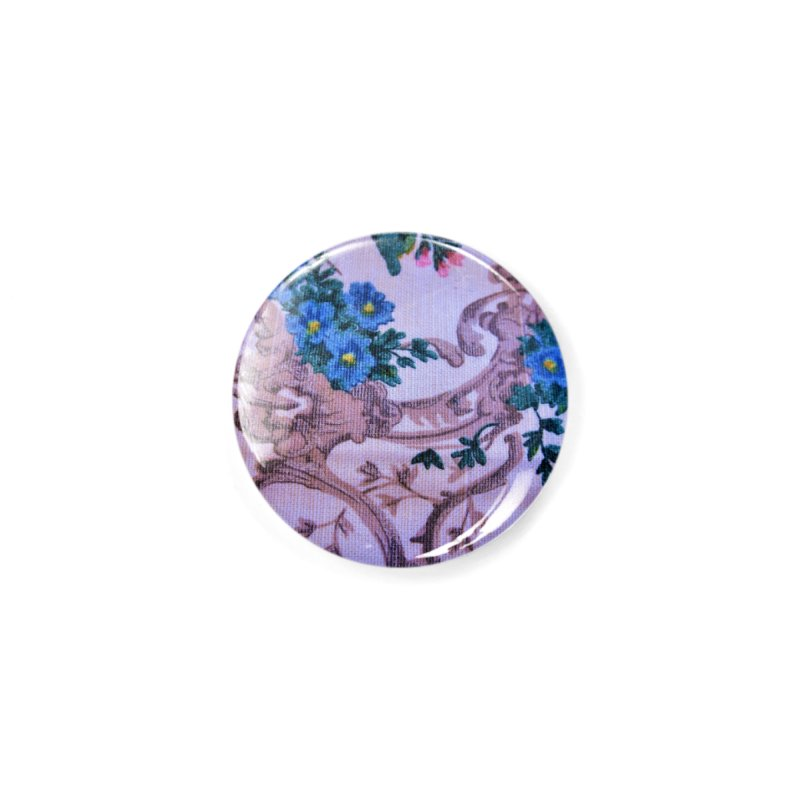 Flowered design photo in different colors in Button by frydenlundphoto's Artist Shop