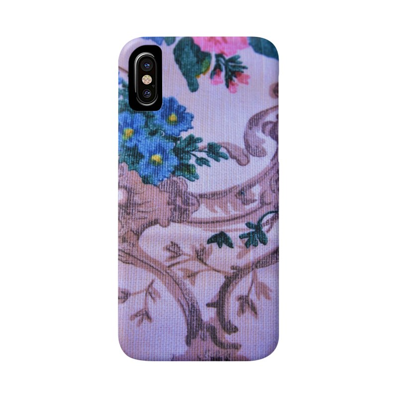 Flowered design photo in different colors in iPhone X / XS Phone Case Slim by frydenlundphoto's Artist Shop