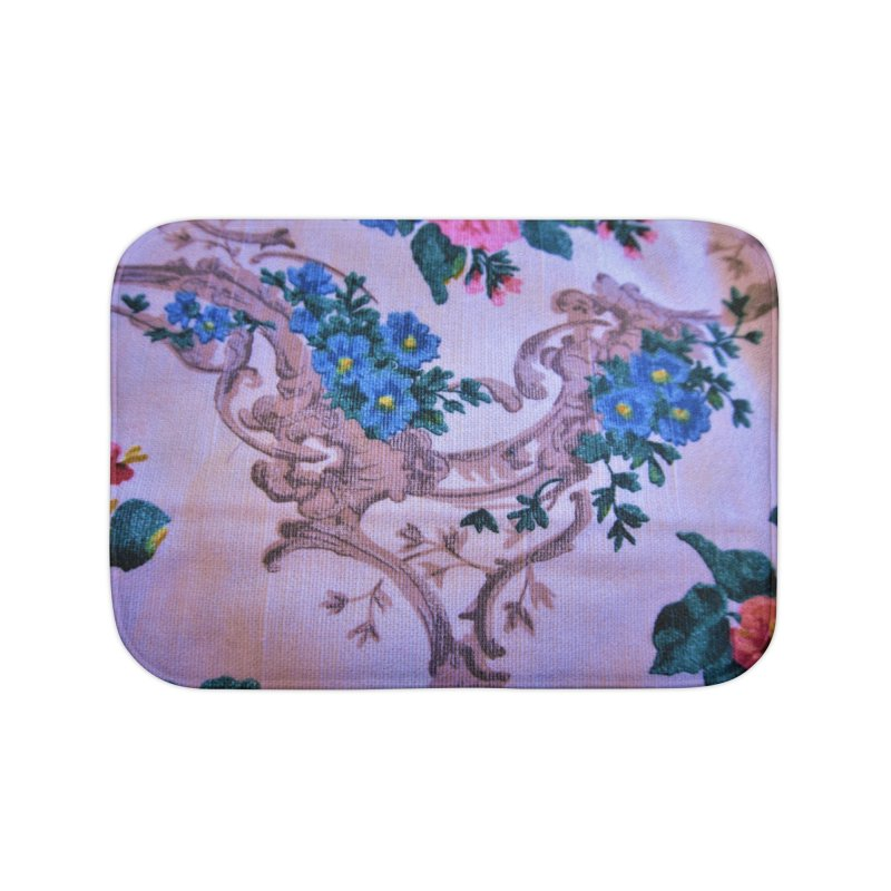 Flowered design photo in different colors in Bath Mat by frydenlundphoto's Artist Shop
