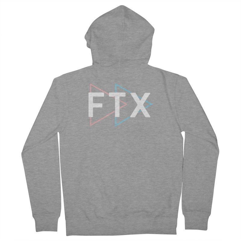 FTX Men's Zip-Up Hoody by FTM TRANSTASTICS SHOP