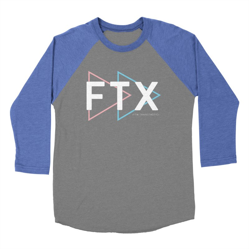 FTX Women's Baseball Triblend Longsleeve T-Shirt by FTM TRANSTASTICS SHOP