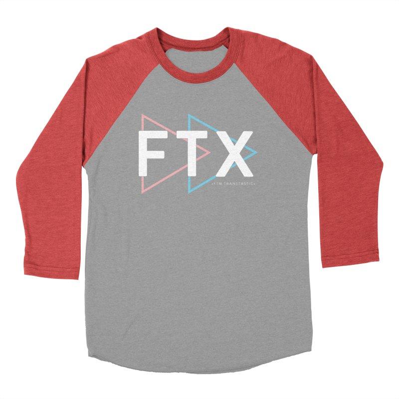 FTX Men's Baseball Triblend Longsleeve T-Shirt by FTM TRANSTASTICS SHOP